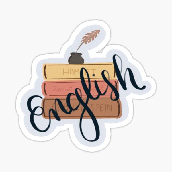 English Sticker