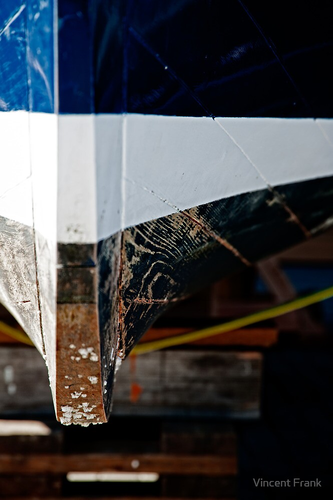 Dry Docked - Port Townsend, WA - Olympic Peninsula -  U.S.A. by Vincent Frank