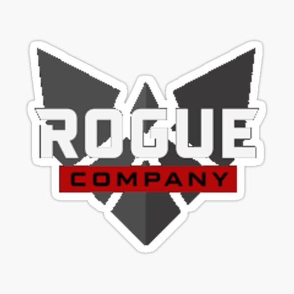 Rogue company icon logo design Sticker