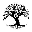 Lovers Tree of Life silhouette by TaraWinona