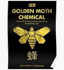 Golden Moth Chemical Poster