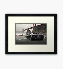 Ferrari 458 Spider | Golden Gate Framed Print