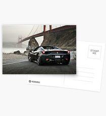 Ferrari 458 Spider | Golden Gate Postcards