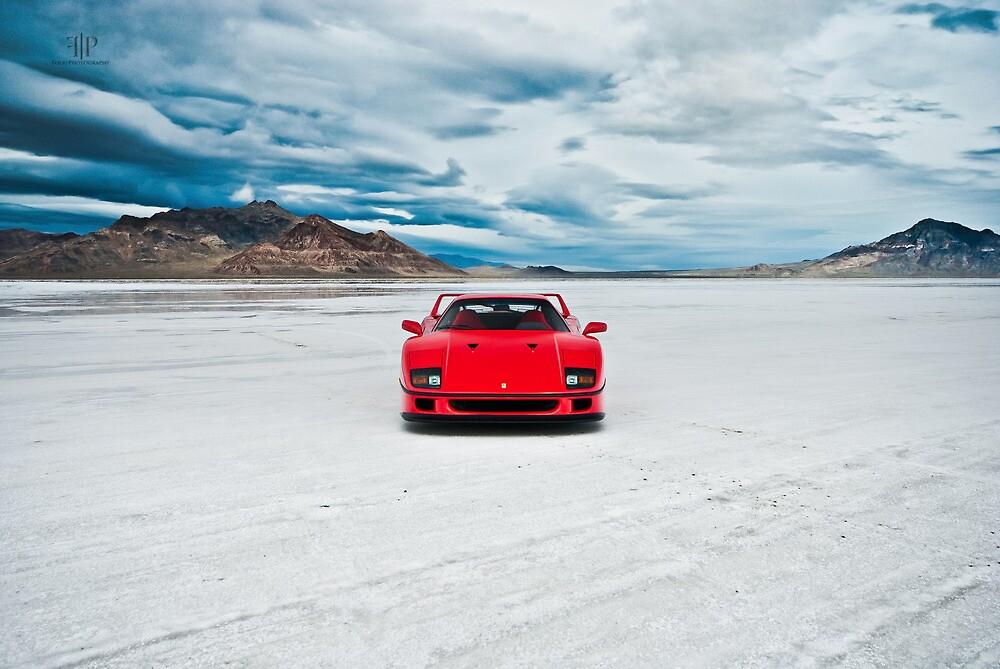 Ferrari F40 | Head On by Gil Folk