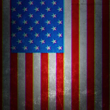 American Flag by nickart