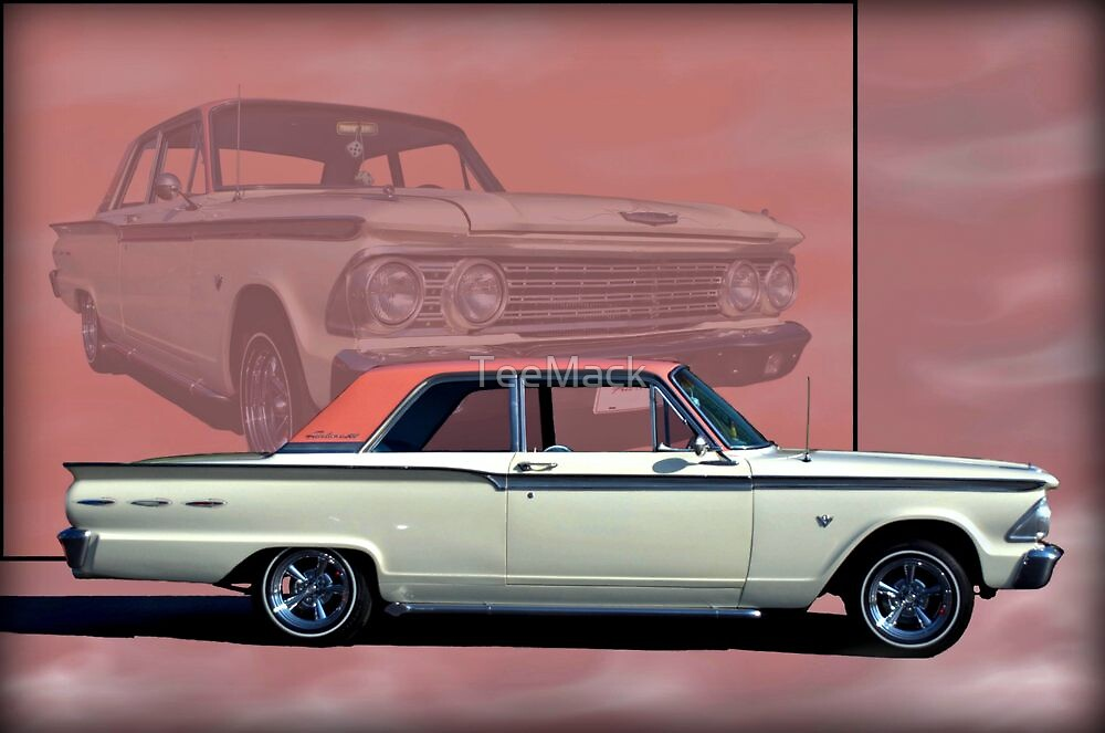 1962 Ford Fairlane 2 Door Sports Coupe by TeeMack