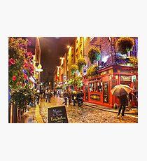 Downtown Dublin Photographic Print
