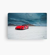 Ferrari F40 | Incoming Storm Canvas Print