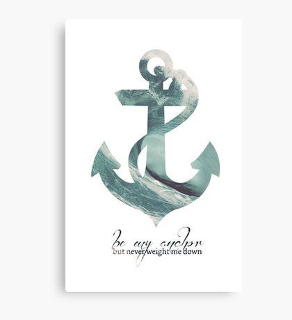 Anchors Aweigh Canvas Print