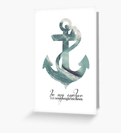 Anchors Aweigh Greeting Card