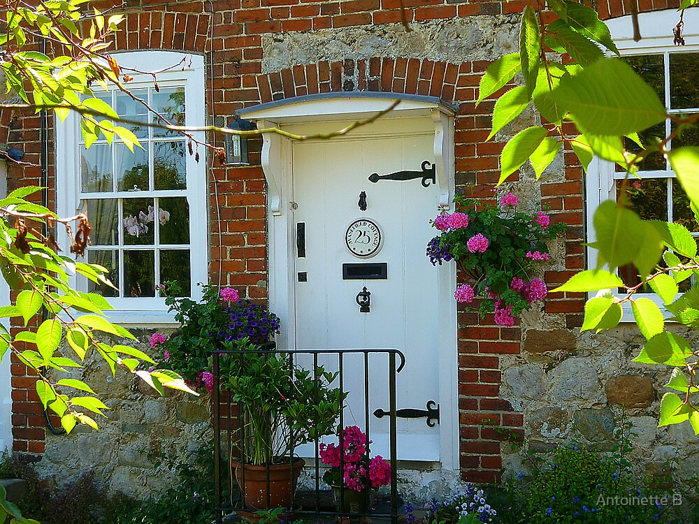 Kentish Cottage by Antoinette B