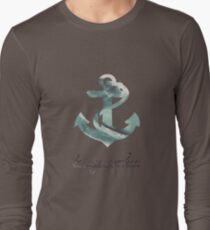 Anchors Aweigh Long Sleeve T-Shirt