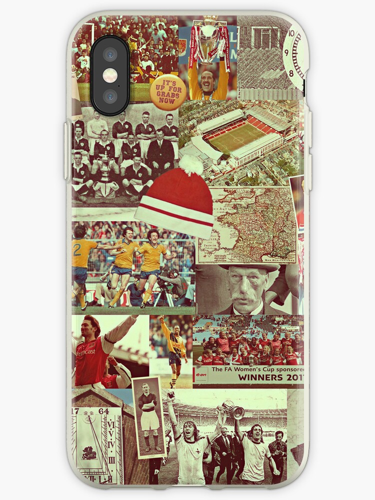 Arsenal History Collae iPhone Case by Michael Henry