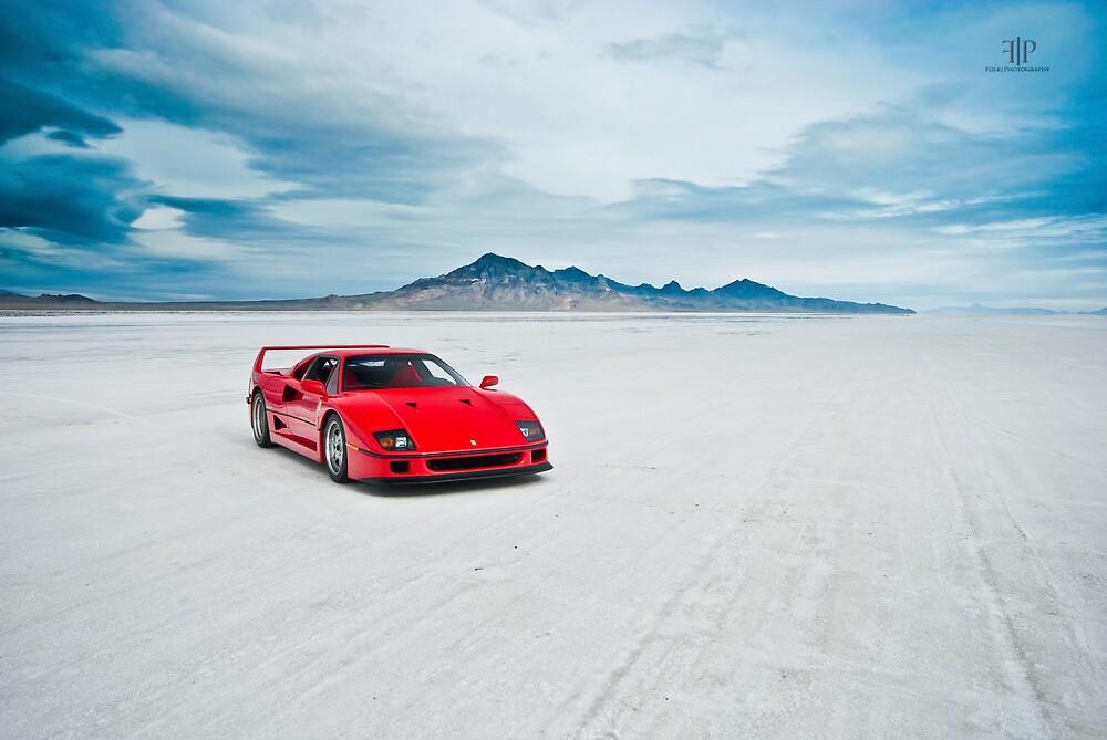 Ferrari F40 | Isolation by Gil Folk