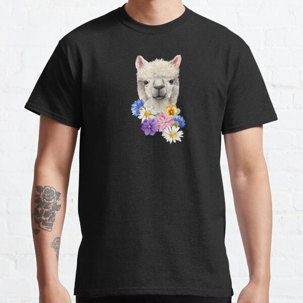Wildflower Alpaca Classic T-Shirt