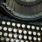 Old Typewriter by WildestArt