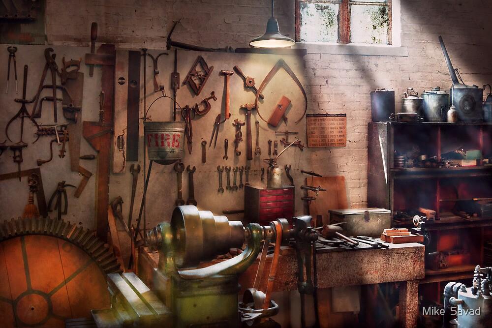 Steampunk - Machinist - The inventors workshop  by Michael Savad