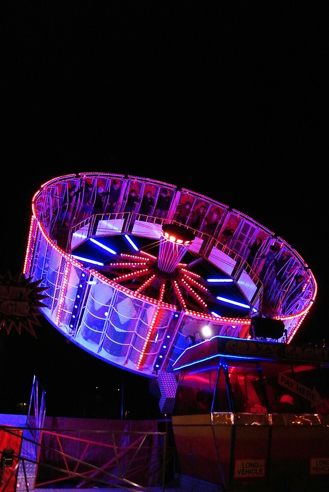 The Fairground by Night by photosbyJT