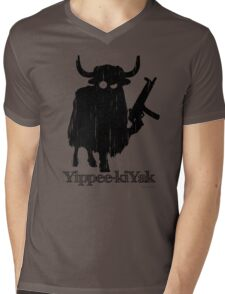 Yippee-kiYak Mens V-Neck T-Shirt
