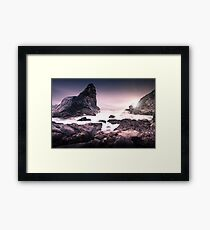 Just Over the Horizon Framed Print