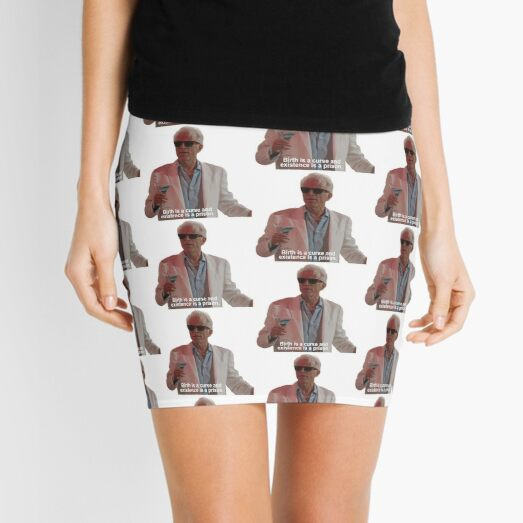 "The Good Place: ""Birth is a curse"" Mini Skirt"