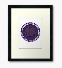 The Purple Shirt Framed Print
