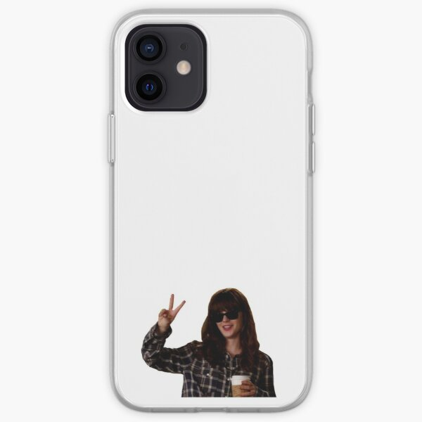 New Girl: hungover Jess Day iPhone Soft Case