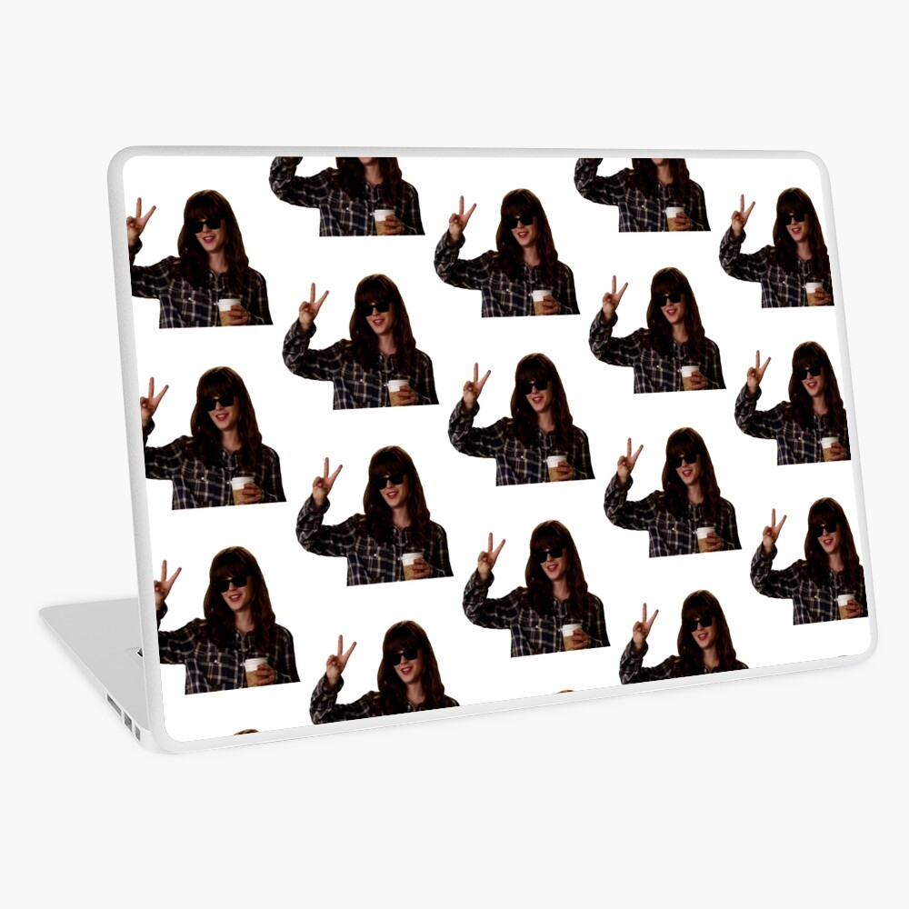 New Girl: hungover Jess Day Laptop Skin