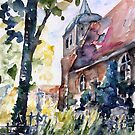 Church Cemetery In Buchholz, Mecklenburg- Germany by Barbara Pommerenke
