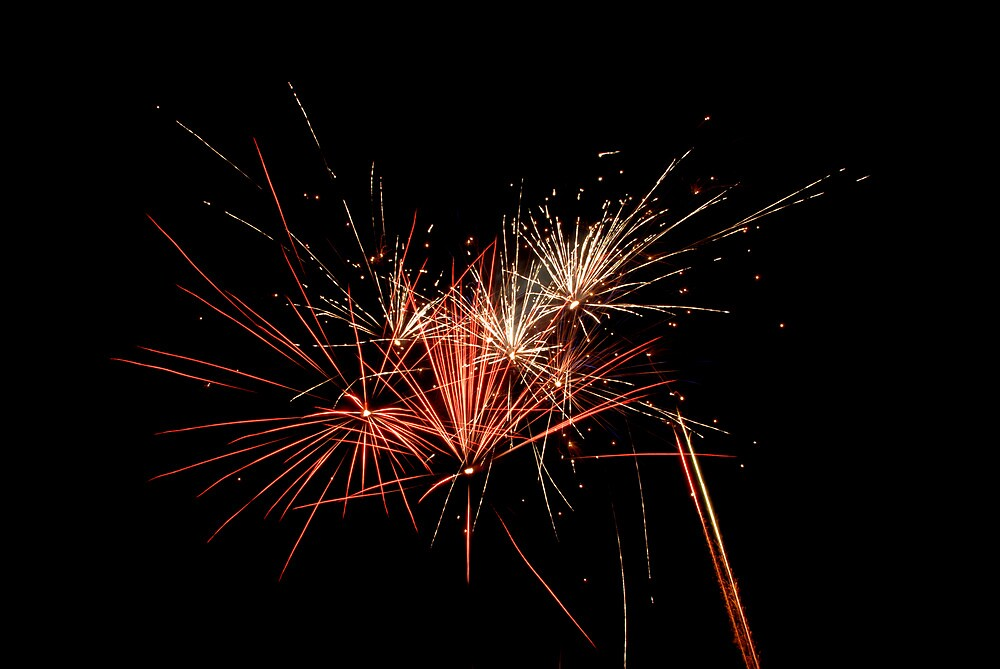 Fourth of July Fireworks 1 by Fields Soumis Hyrkas