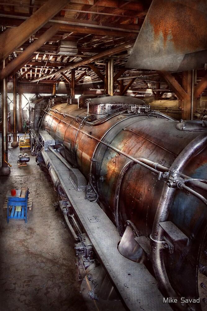 Locomotive - Routine maintenance  by Michael Savad