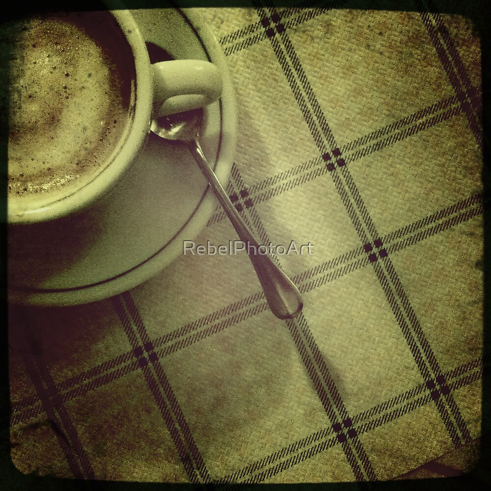Another Cup of Coffee by RebelPhotoArt