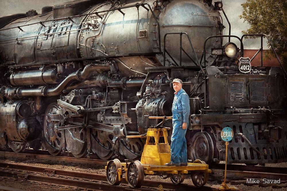 Locomotive - The gandy dancer  by Michael Savad