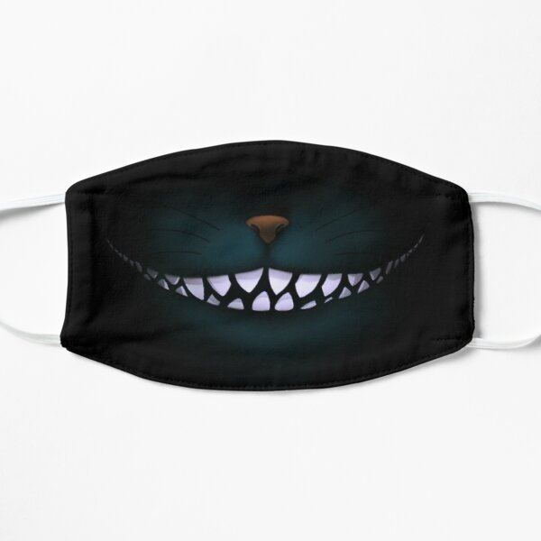 Alice in Wonderland Chesire Cat Smile Flat Mask