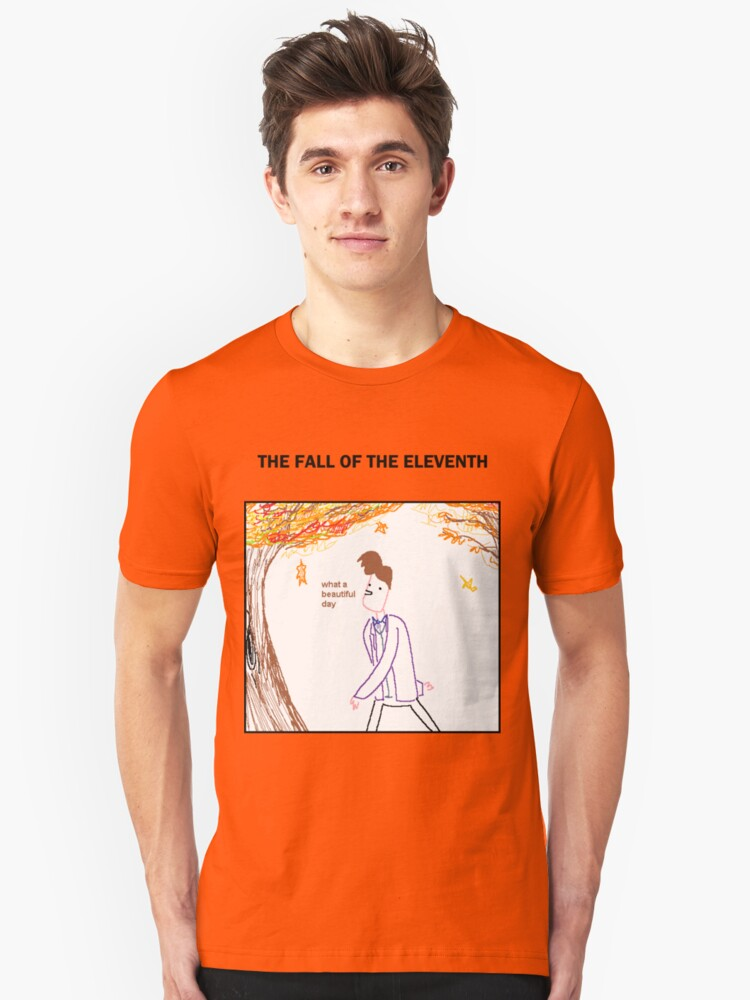 The Fall of the Eleventh Unisex T-Shirt Front