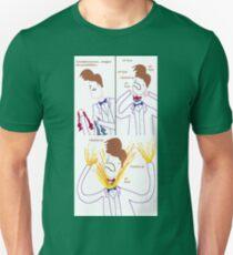Three Bowties Unisex T-Shirt