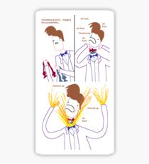 Three Bowties Sticker