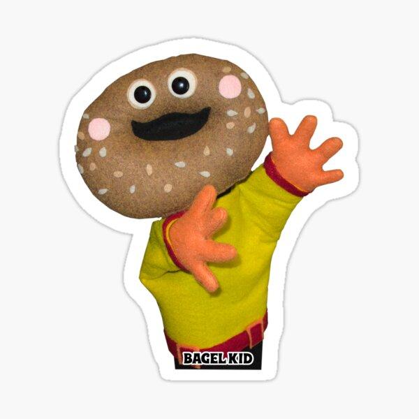 Wump Mucket Puppets Bagel Kid merchandise Sticker