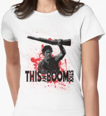 Army of Darkness, Ash, This is my Boomstick Women's Fitted T-Shirt