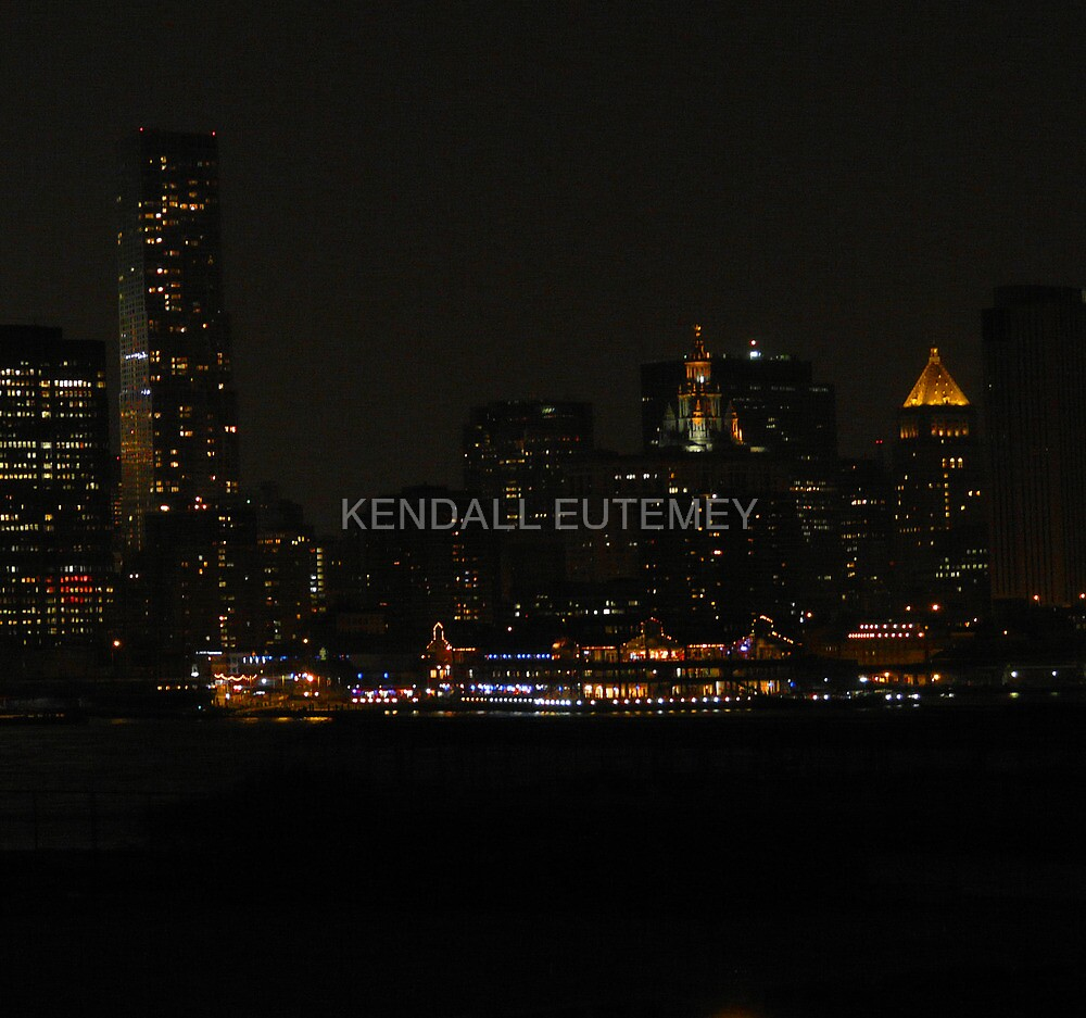 SUMMER IN THE CITY by KENDALL EUTEMEY