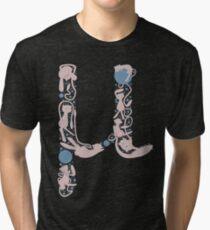 The Letter Mu Tri-blend T-Shirt