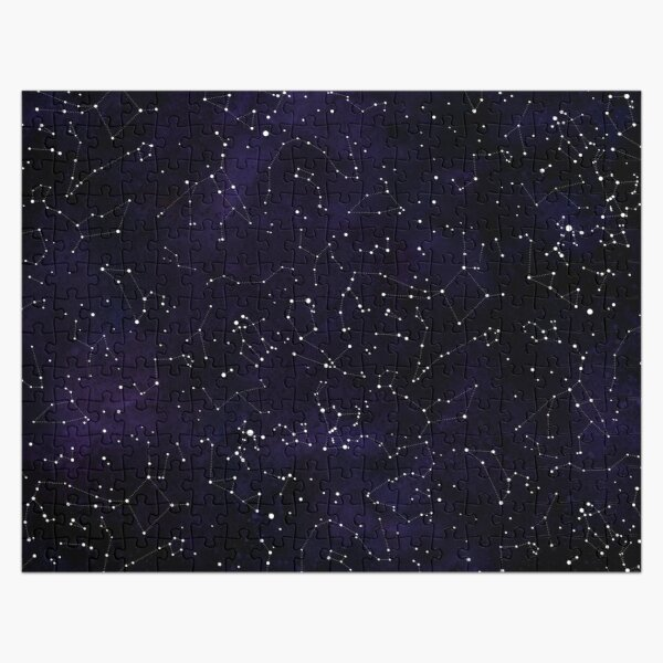 Northern Hemisphere Constellations Jigsaw Puzzle