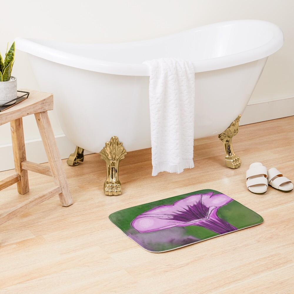 Pop-out Petunia Bath Mat