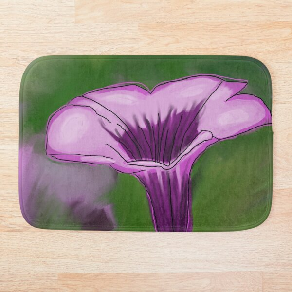 Pop-out Petunia Bath Mat