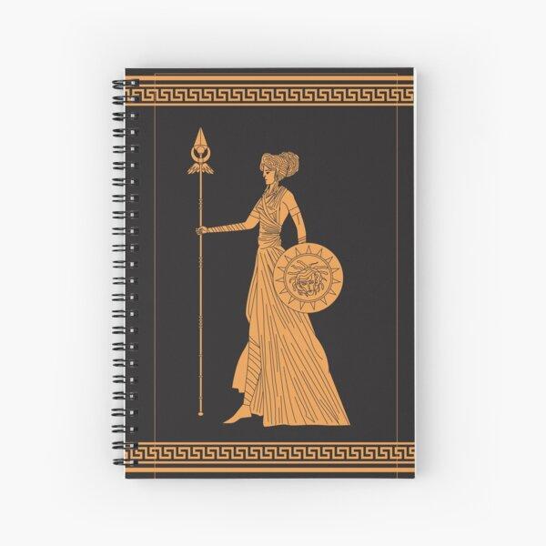 greek mythology athena goddess Spiral Notebook