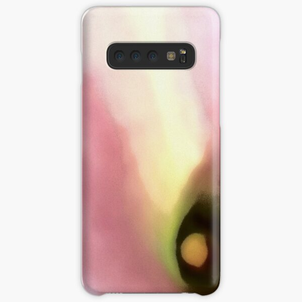 Abstract Blush and Mauve Lily Samsung Galaxy Snap Case