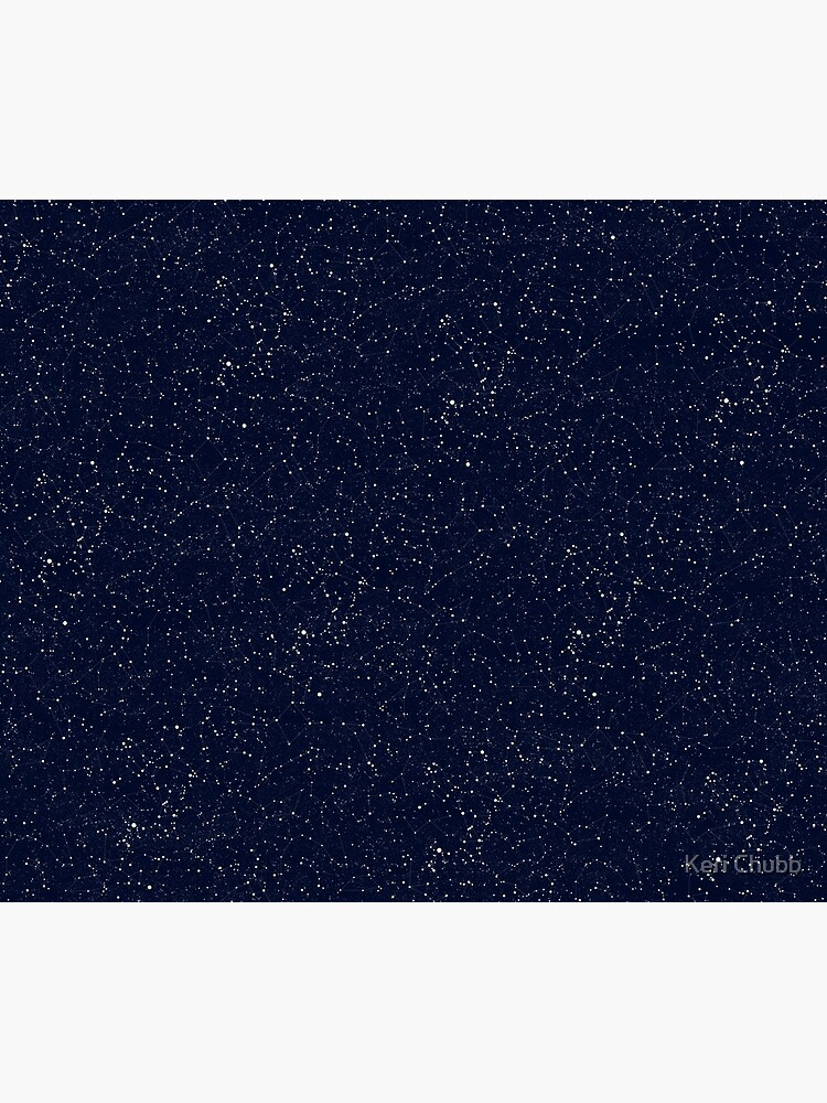 Starry Night Constellations by studythestars
