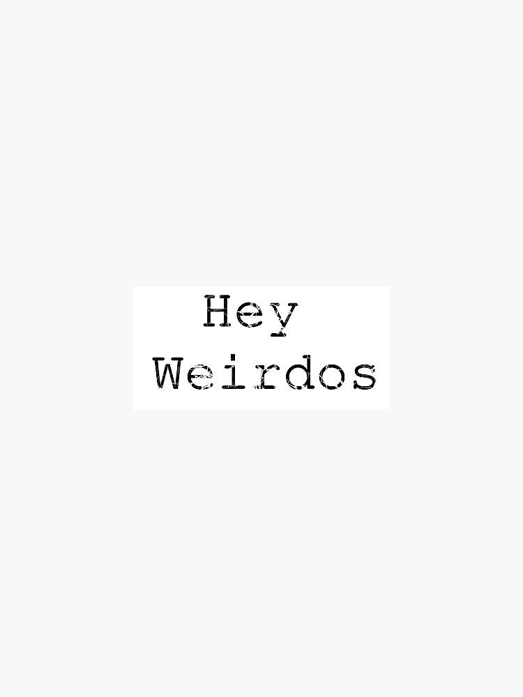 Morbid Podcast Hey Weirdos  by aksnyder21