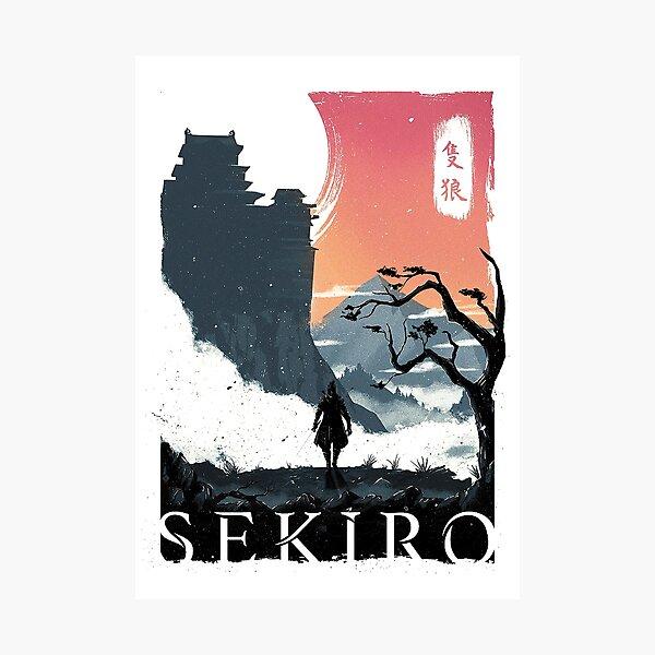 Sekiro Lone Wolf Photographic Print
