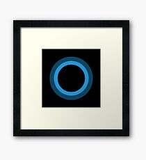 Cortana Framed Print